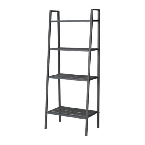 LERBERG Shelf unit IKEA Shelves in different depths; space for anything from collectables to books.