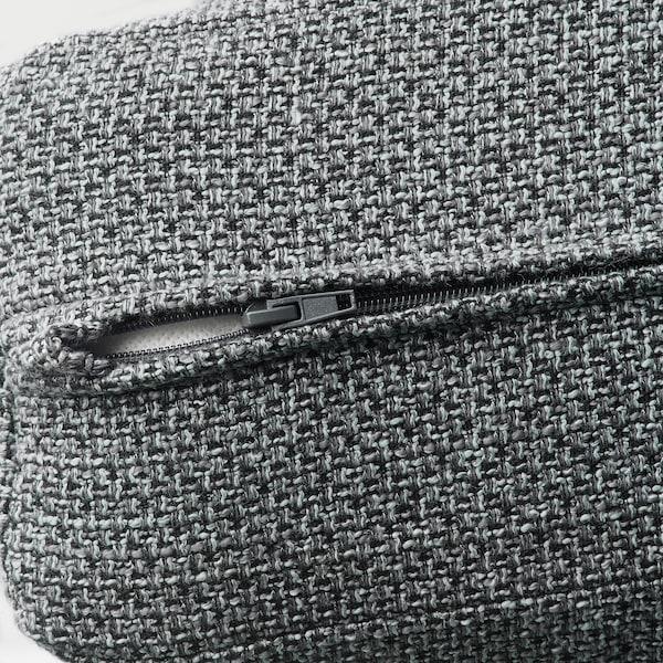LIDHULT 2-seat sofa-bed Lejde grey/black 102 cm 76 cm 208 cm 98 cm 7 cm 53 cm 45 cm 140 cm 200 cm