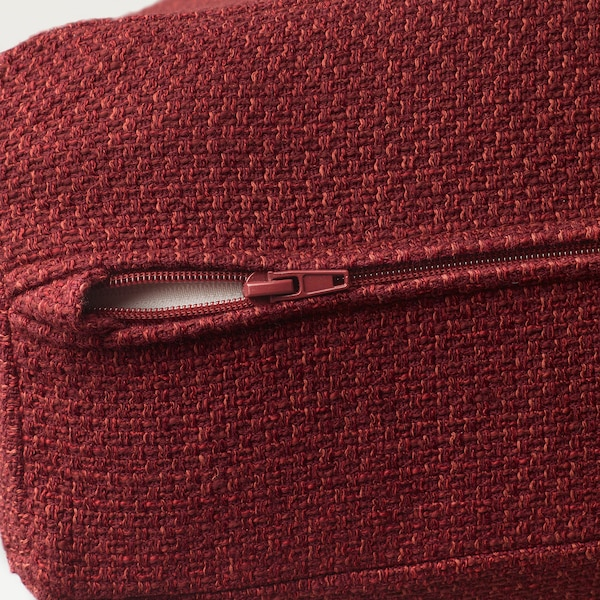 LIDHULT 2-seat sofa-bed Lejde red-brown 102 cm 76 cm 208 cm 98 cm 7 cm 53 cm 45 cm 140 cm 200 cm