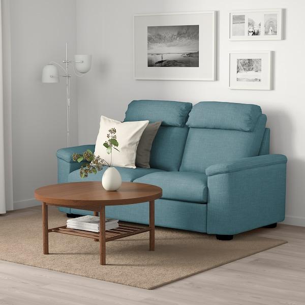 LIDHULT 2-seat sofa-bed Gassebol blue/grey 102 cm 76 cm 208 cm 98 cm 7 cm 53 cm 45 cm 140 cm 200 cm