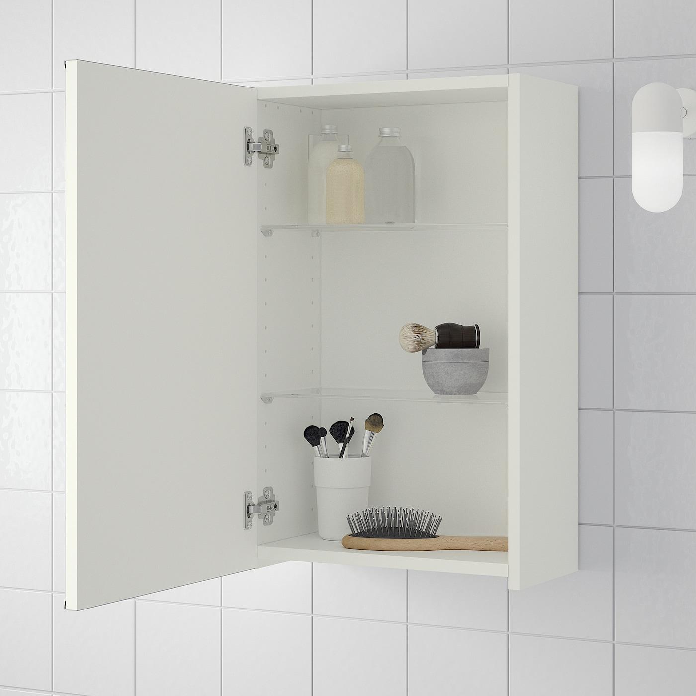 LILLÅNGEN Mirror cabinet with 10 door - white 10x100x10 cm