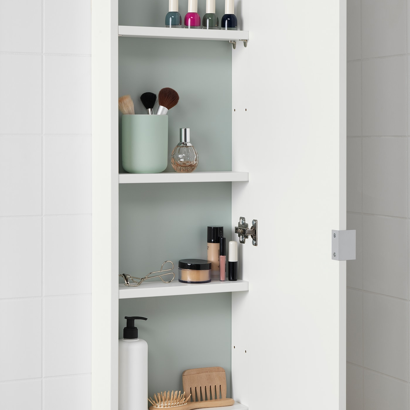Wall Cabinet With 1 Door White
