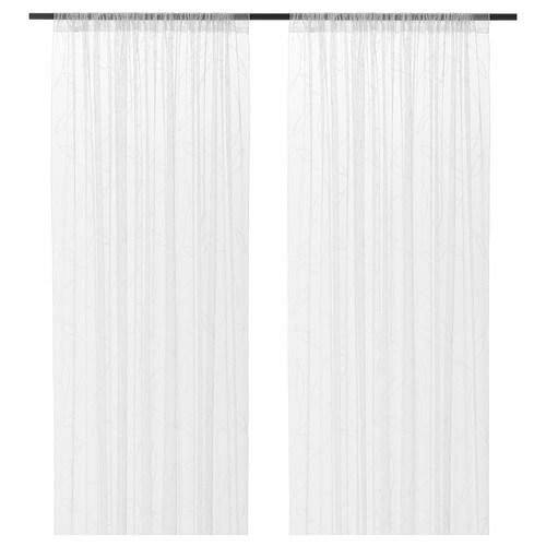 IKEA LILLEGERD Sheer curtains, 1 pair