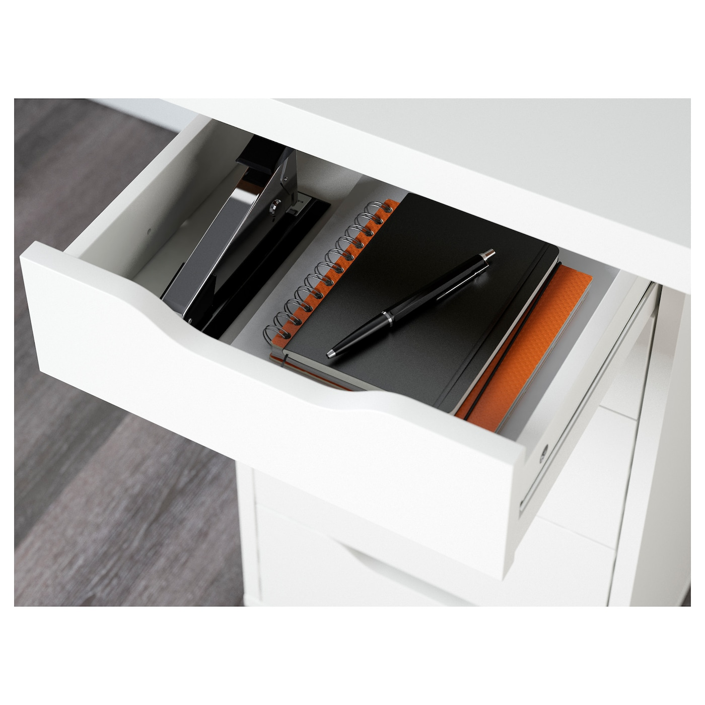 LINNMON / ALEX Table - white 150x75 cm