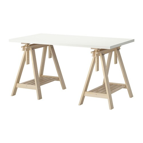 linnmon finnvard table ikea you can choose a flat or tilted table top which - Drafting Table Ikea