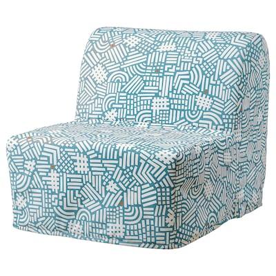 LYCKSELE LÖVÅS Chair-bed, Tutstad multicolour