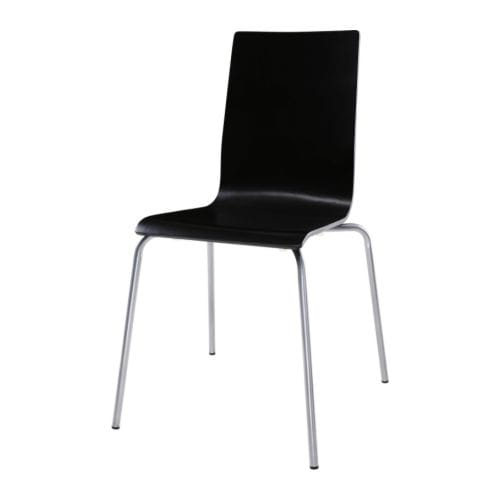 MARTIN Chair IKEA Stackable; saves space when not in use.