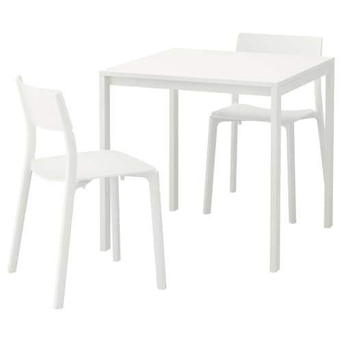 IKEA MELLTORP / JANINGE Table and 2 chairs