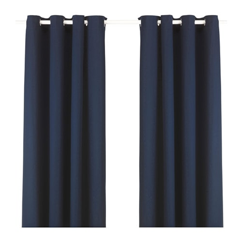 MERETE Curtains, 1 pair - IKEA