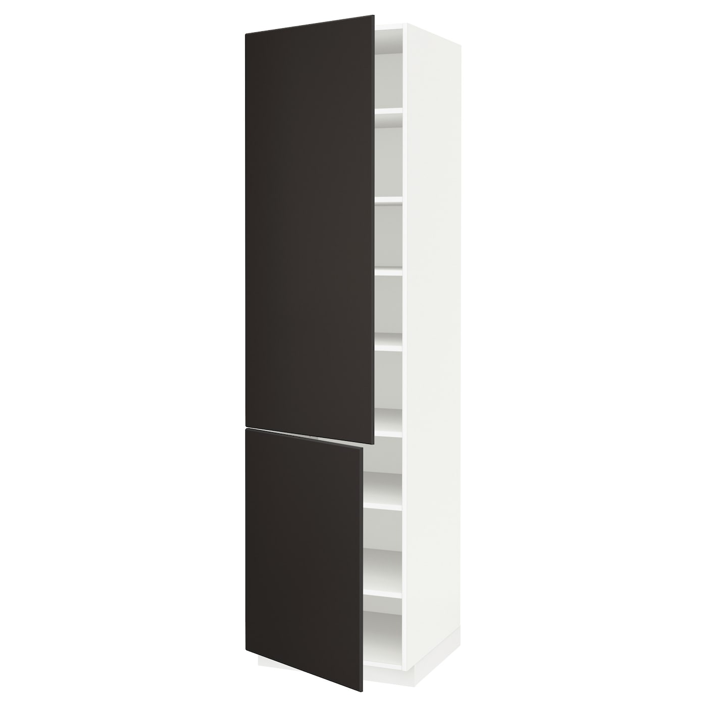 Metod High Cabinet With Shelves 2 Doors
