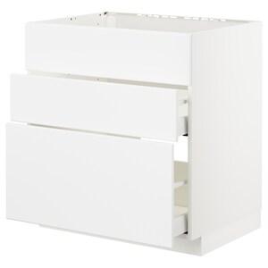 Front: Kungsbacka matt white.