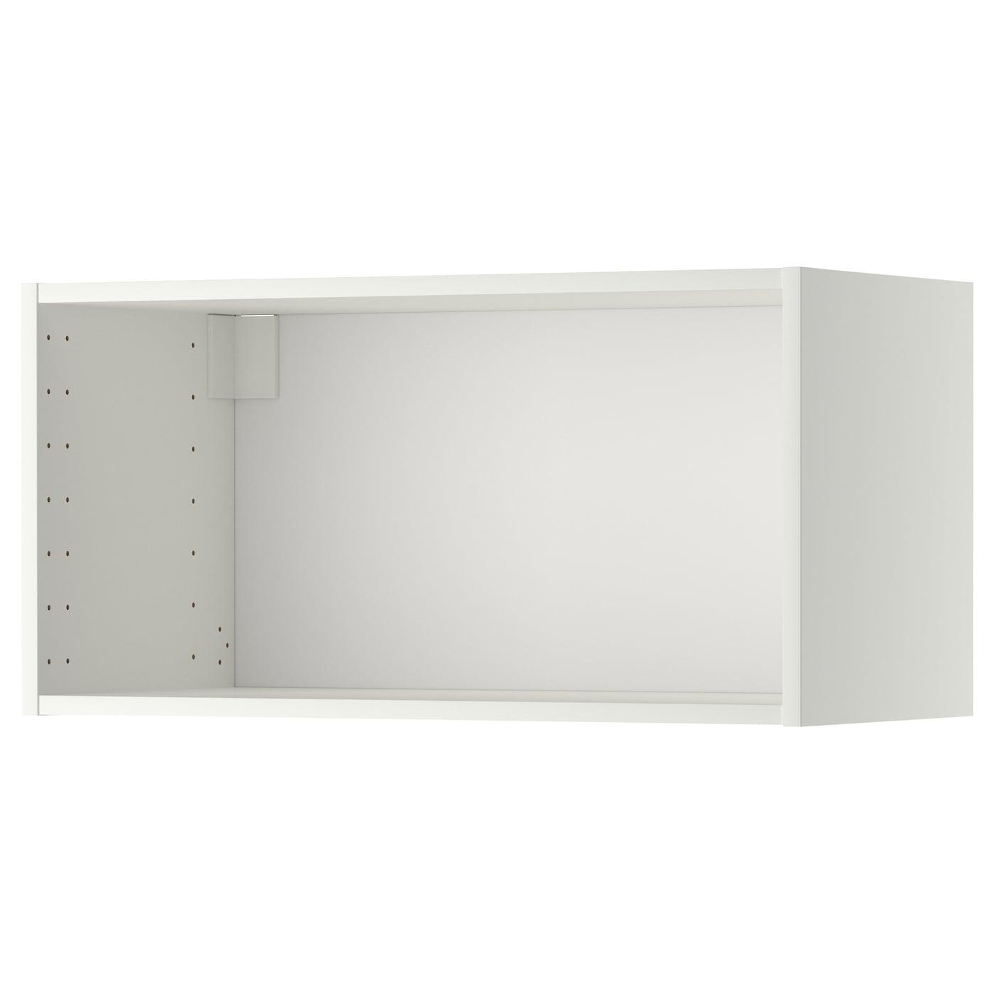 Metod Wall Cabinet Frame White Ikea