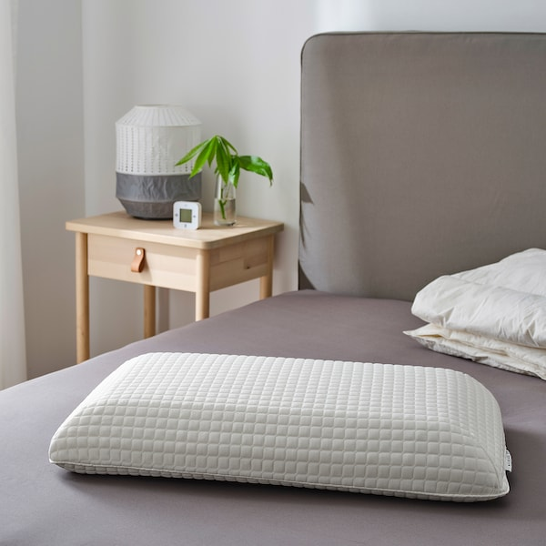MJÖLKKLOCKA ergonomic pillow, side/back sleeper 41 cm 71 cm 13 cm