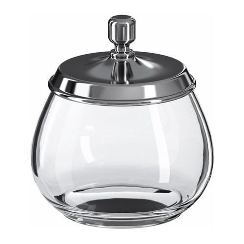 MOGDEN Jar with lid IKEA