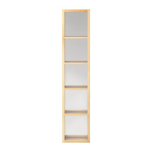 MOLGER Shelf with mirror IKEA Can be hung horizontally or vertically.