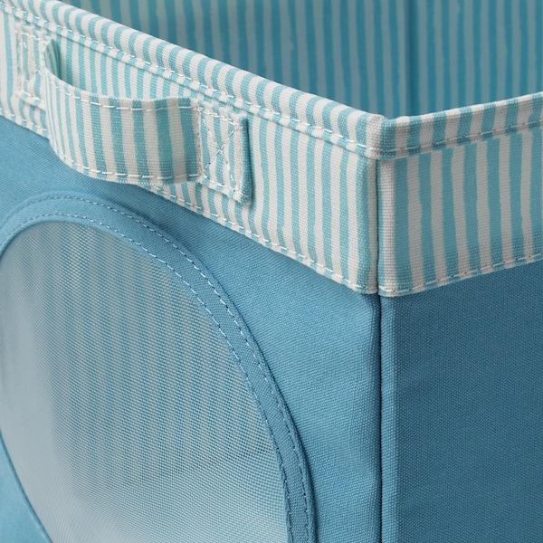 NÖJSAM box blue 25 cm 37 cm 22 cm