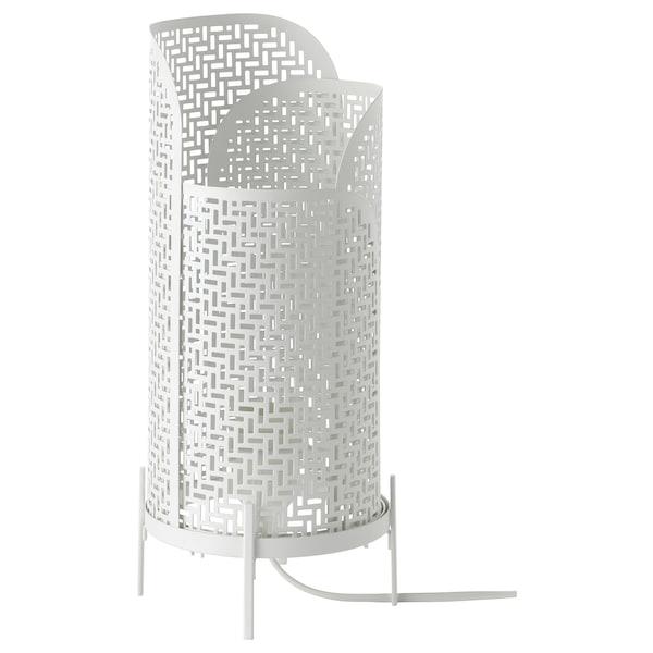 NOLLPUNKT Table lamp, white, 34 cm