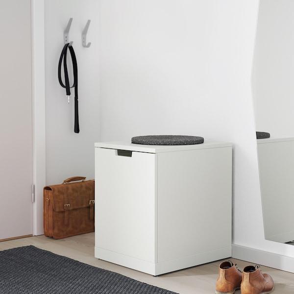 NORDLI Chest of drawers, white, 40x54 cm