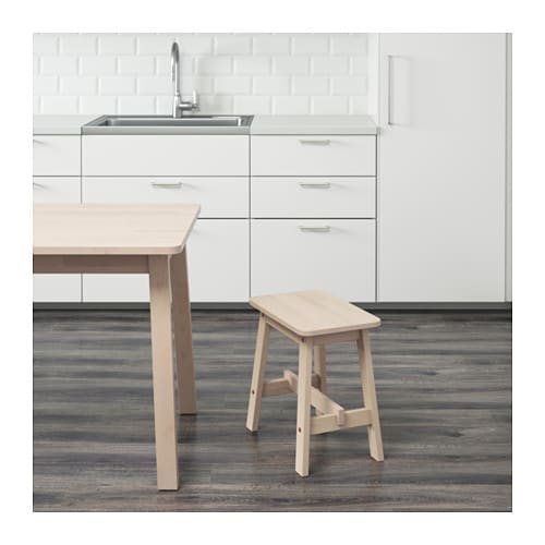 NORRÅKER Stool IKEA Durable and hard-wearing; meets the requirements on furniture for public use.