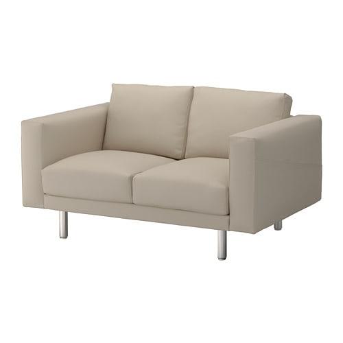 Norsborg 2 Seat Sofa Edum Beige Metal Ikea