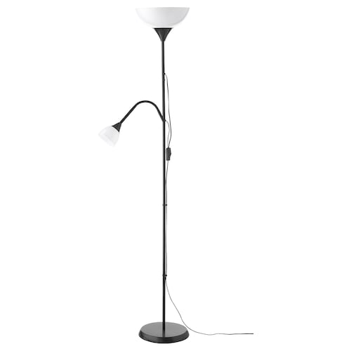 IKEA NOT Floor uplighter/reading lamp