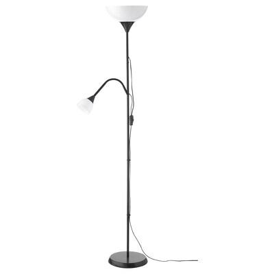NOT Floor uplighter/reading lamp, black