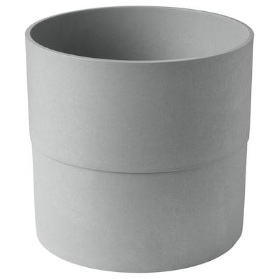 NYPON Plant pot, in/outdoor grey, 32 cm
