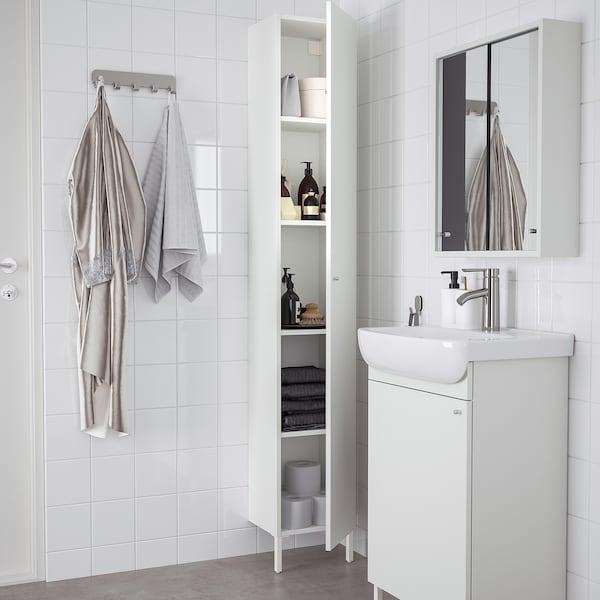 NYSJÖN High cabinet, white, 30x190 cm