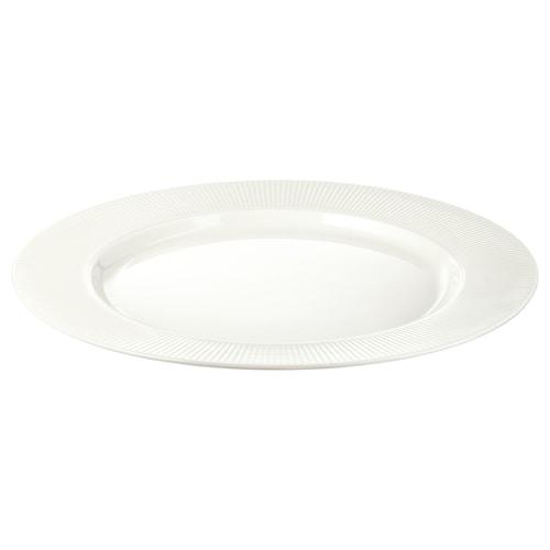 OFANTLIGT plate white 28 cm