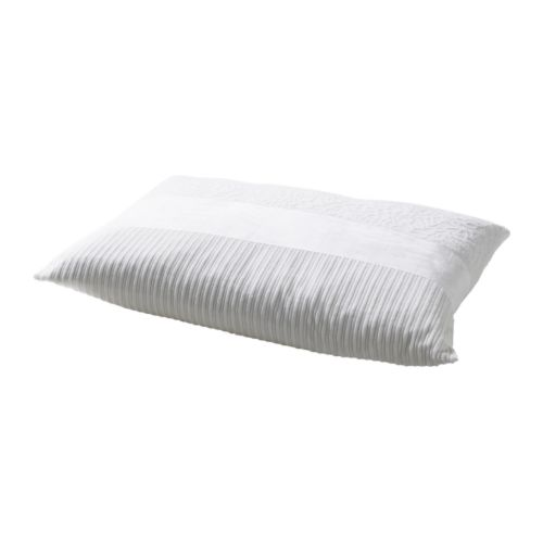 OFELIA BLAD Cushion IKEA Inner cushion with feather filling provides great support and comfort.  The zipper makes the cover easy to remove.