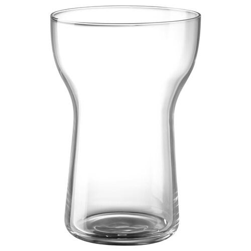 OMTÄNKSAM glass clear glass 13 cm 40 cl