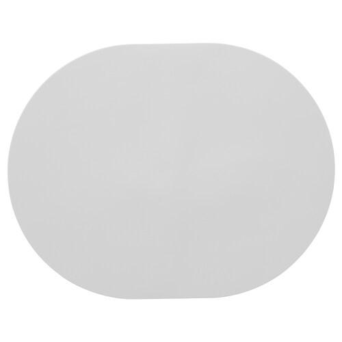 OMTÄNKSAM place mat with anti-slip light grey 45 cm 35 cm