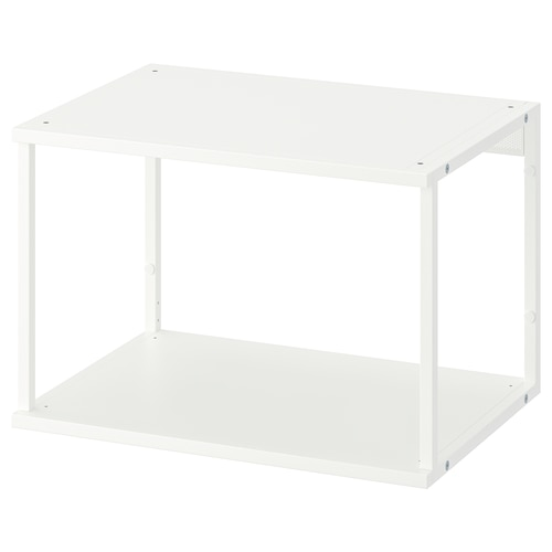 PLATSA open shelving unit white 40 cm 60 cm 40 cm