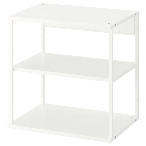 PLATSA open shelving unit white 40 cm 60 cm 60 cm