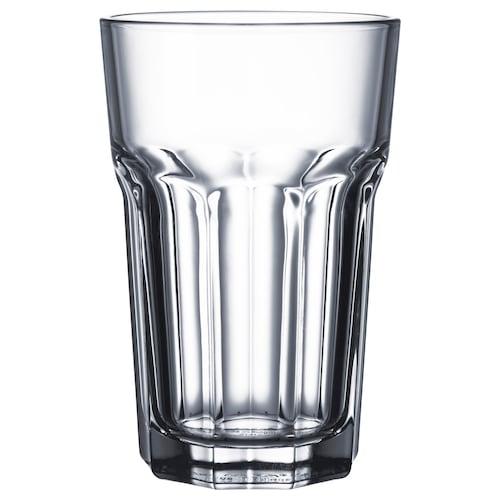 POKAL glass clear glass 14 cm 35 cl 4 pieces