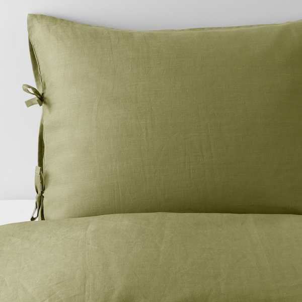 IKEA PUDERVIVA Quilt cover and 2 pillowcases