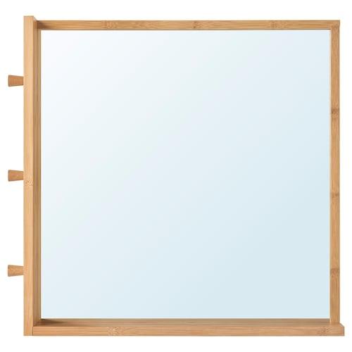 RÅGRUND mirror bamboo 53 cm 9 cm 50 cm