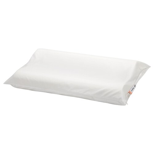 RAKNÖREL ergonomic pillow 33 cm 50 cm 340 g 390 g
