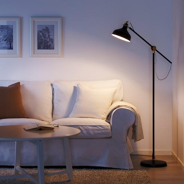 RANARP Floor/reading lamp, black
