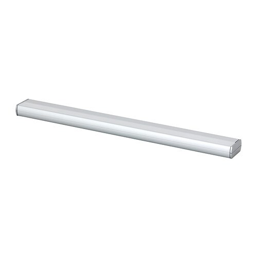 RATIONELL LED worktop lighting IKEA The LED light source consumes up to 85% less energy and lasts 20 times longer than incandescent bulbs.