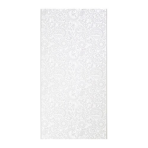 ROSENKALLA Panel curtain IKEA A panel curtain is ideal to use in a layered window solution, to divide rooms or to cover open storage solutions.