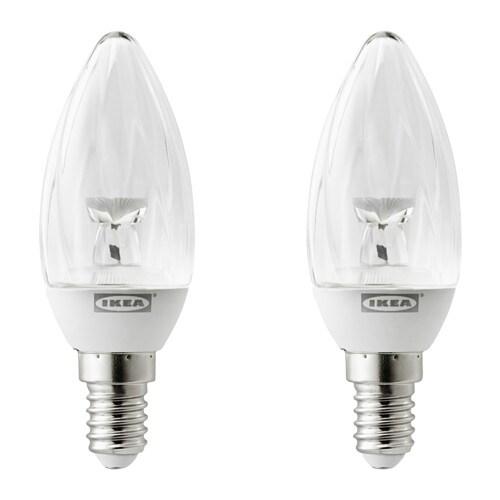 Ryet led bulb e14 100 lumen ikea for Lampada led e14