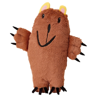 SAGOSKATT Soft toy, brown bear