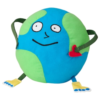 SAGOSKATT Soft toy, Globe man