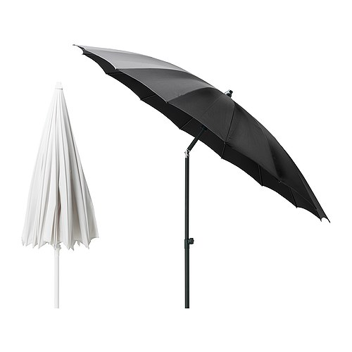 SAMSÖ Parasol IKEA Excellent UV-protection; the fabric blocks at least 97% of the ultraviolet radiation.