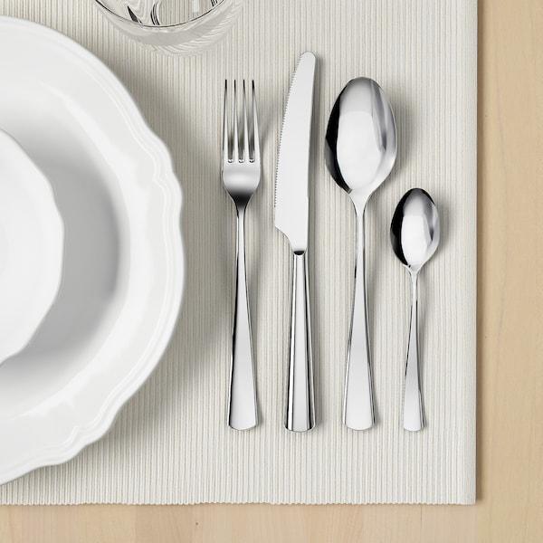 SEDLIG 24-piece cutlery set, stainless steel