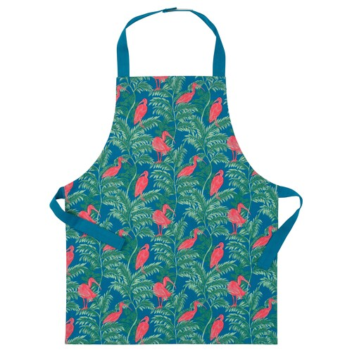 SILVERPOPPEL children's apron bird/multicolour 57 cm