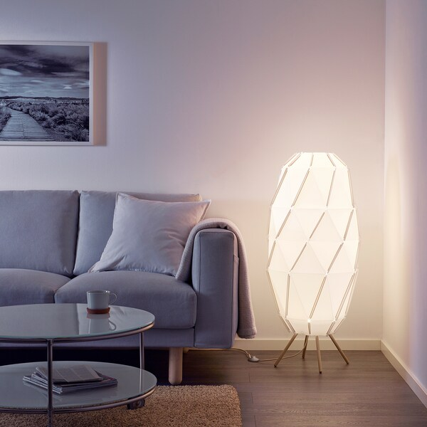 Sj 214 Penna Floor Lamp White Ikea