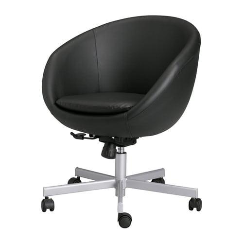 Home ikea for Ikea white swivel chair