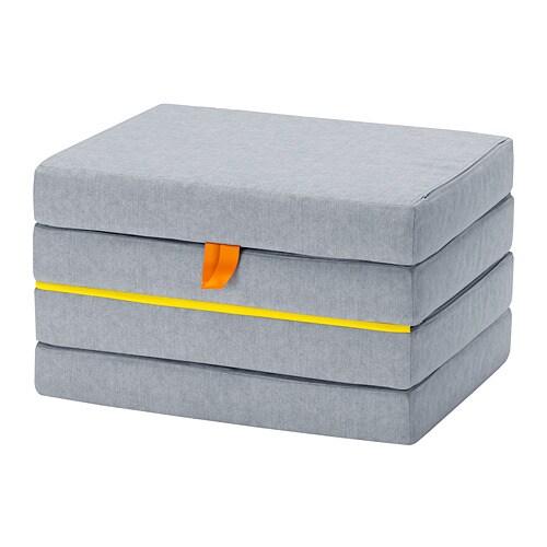Sl 196 Kt Pouffe Mattress Foldable Ikea